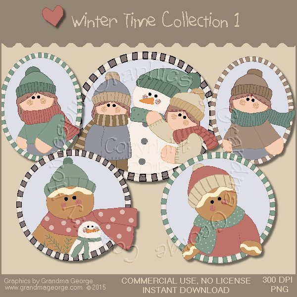 Winter Time Collection Vol. 1