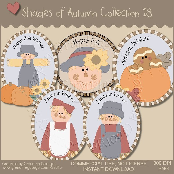 Shades of Autumn Graphics Collection Vol. 18