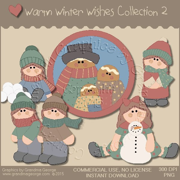 Warm Winter Wishes Collection Vol. 2