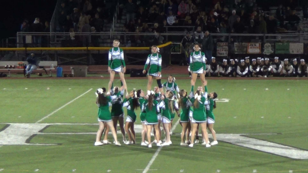 Pascack Valley cheerleading video