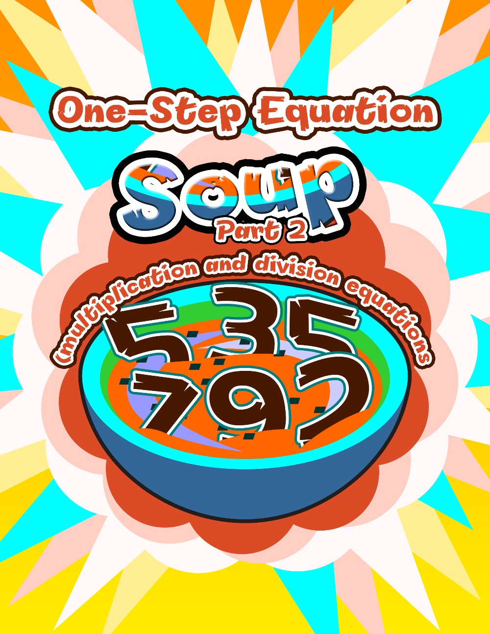 One-Step Equation Soup, Part 2