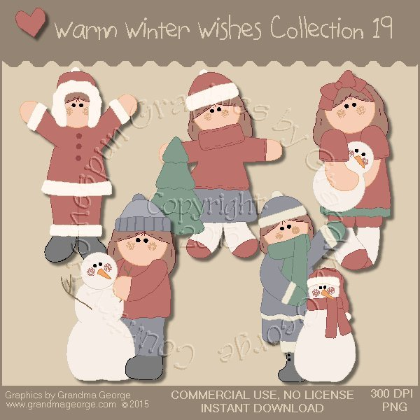 Warm Winter Wishes Collection Vol. 19