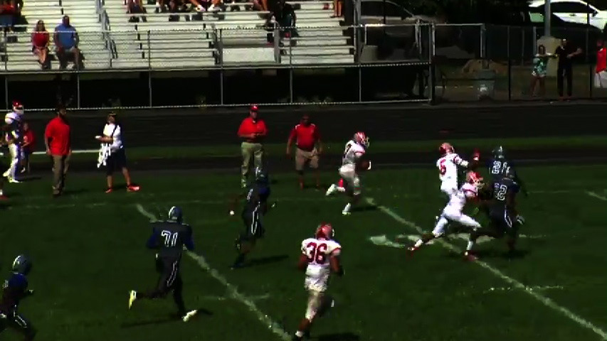 Ridgefield Park vs. Teaneck football video highlights