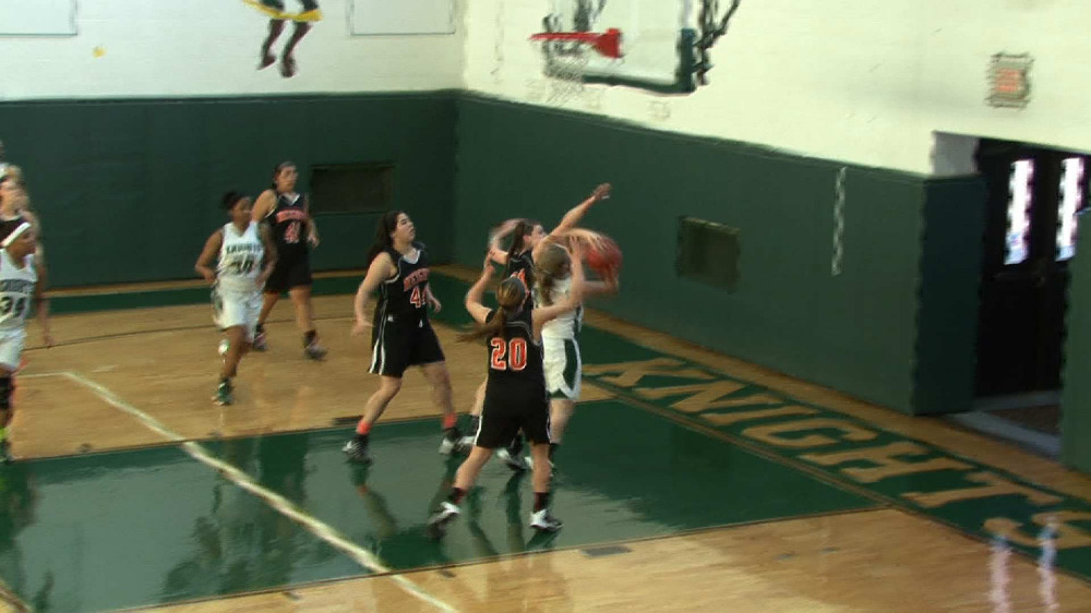 New Milford vs. Hasbrouck Heights girls' basketball video highlights