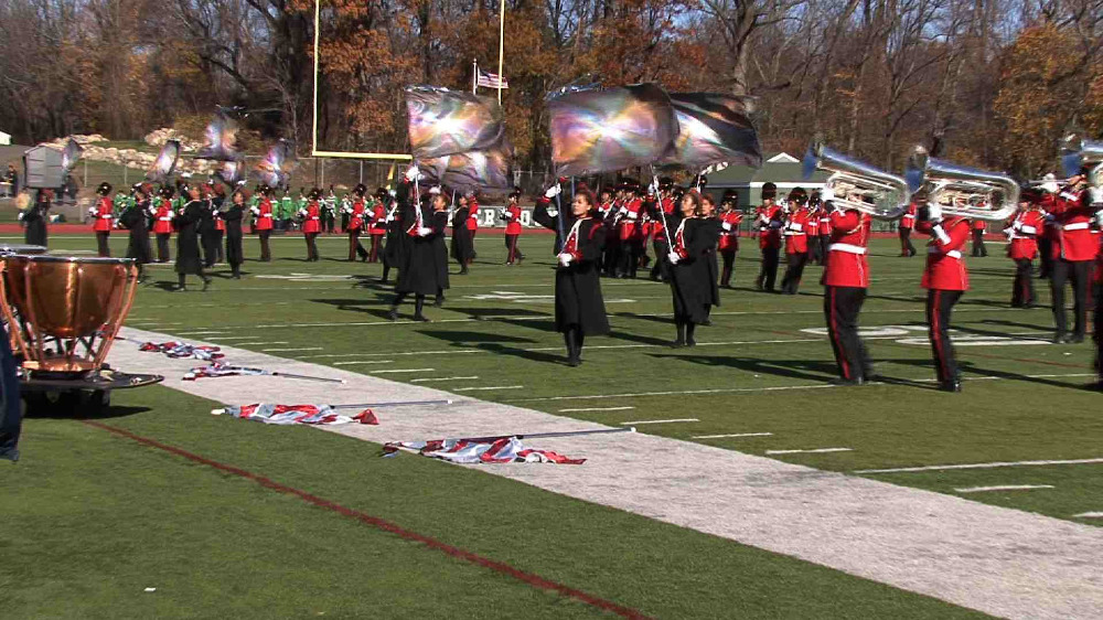 Bergenfield H.S. band performance