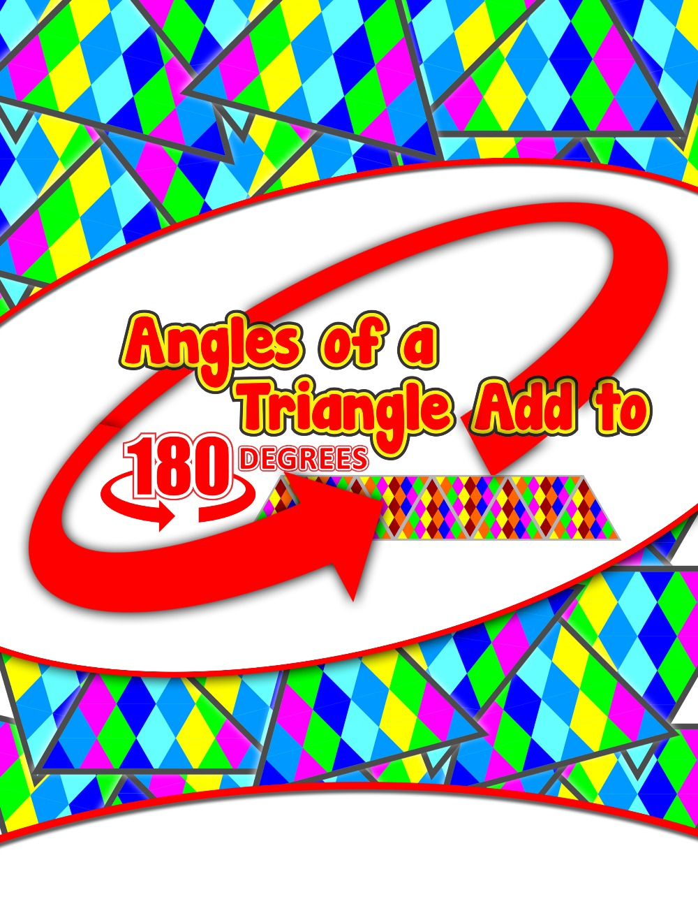 Angles of a Triangle Add to 180 degrees