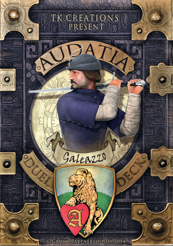 Audatia print and play deck: Galeazzo