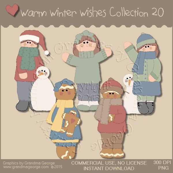 Warm Winter Wishes Collection Vol. 20