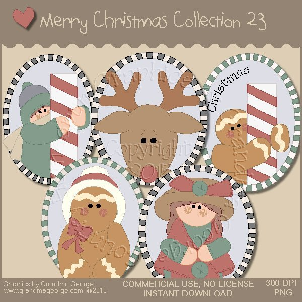 Merry Christmas Graphics Collection Vol. 23