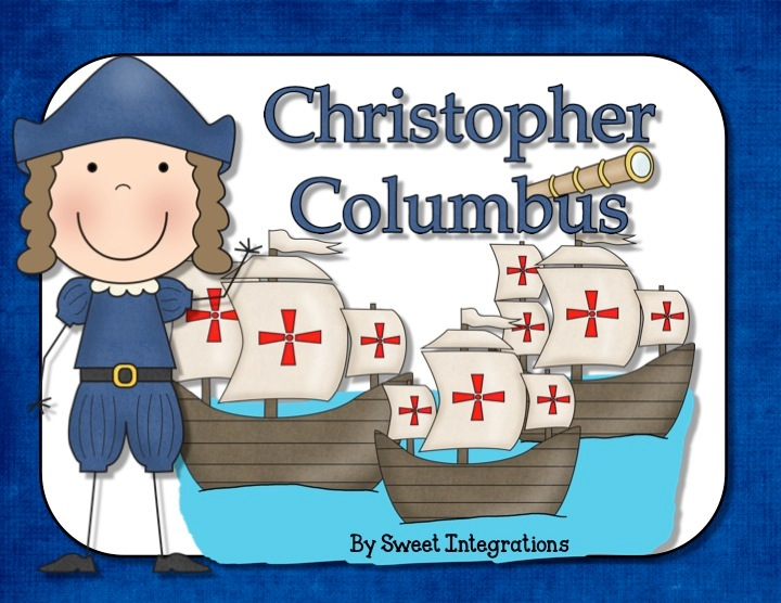 Christopher Columbus Informational Text: Powerpoint and Activities
