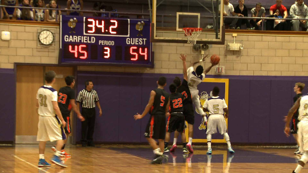 Garfield vs. Fort Lee boys' basketball video highlights