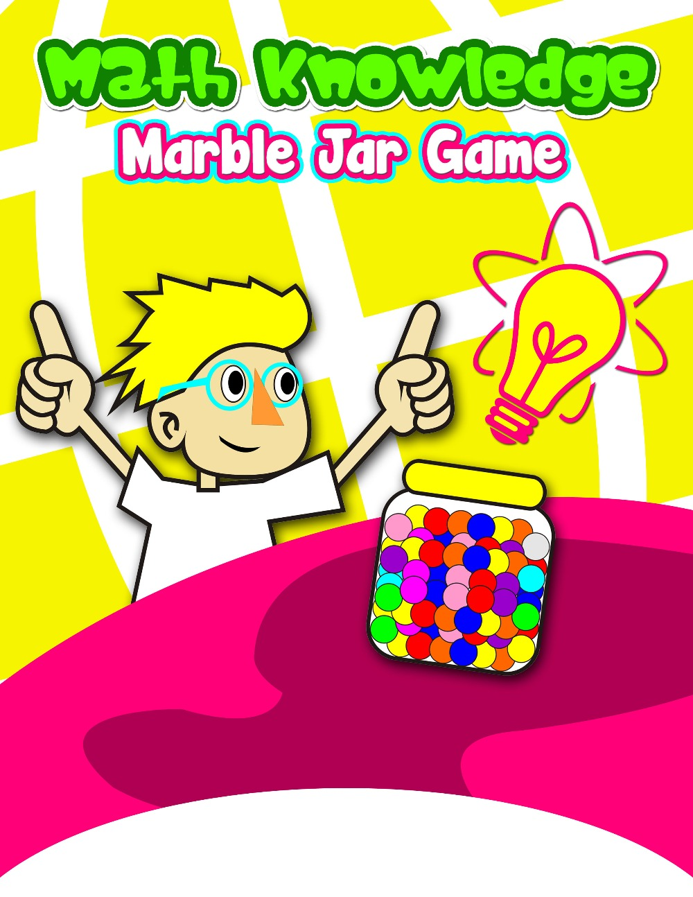 Math Knowledge Marble Jar Game