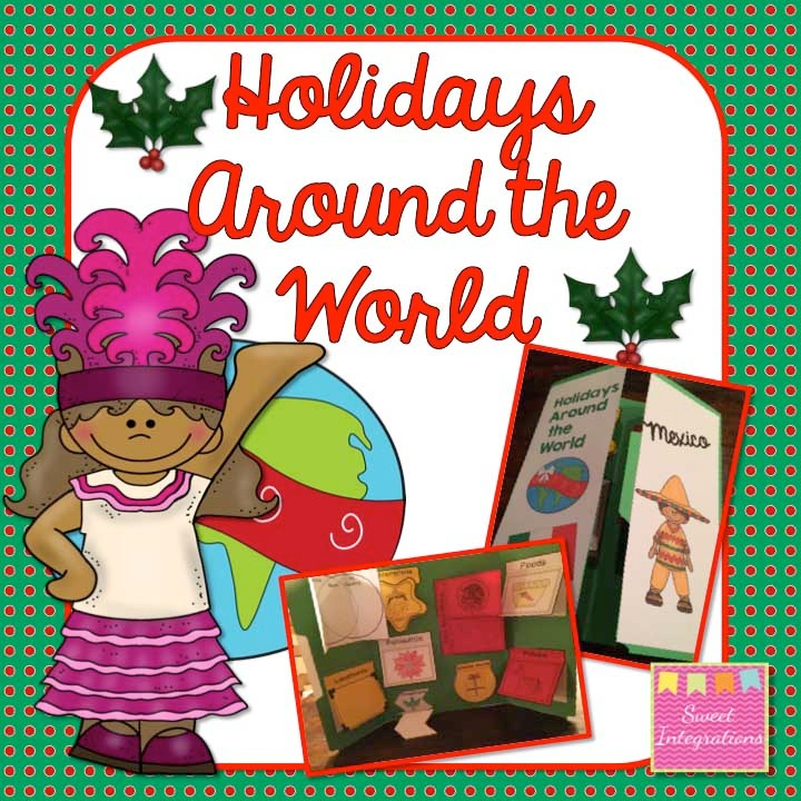 Holidays Around the World - Interactive Notebook and Lapbook