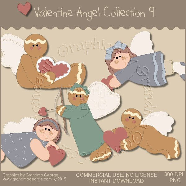 Valentine Angel Graphics Collection Vol. 9