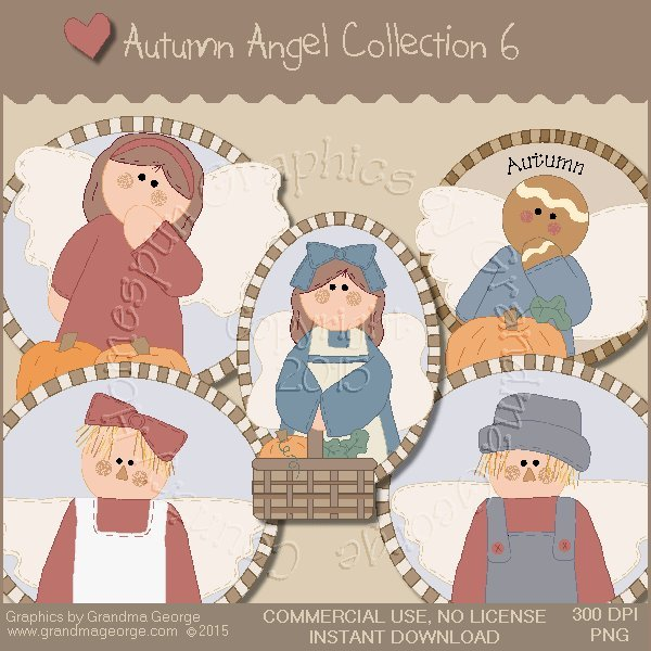 Autumn Angel Graphics Collection Vol. 6