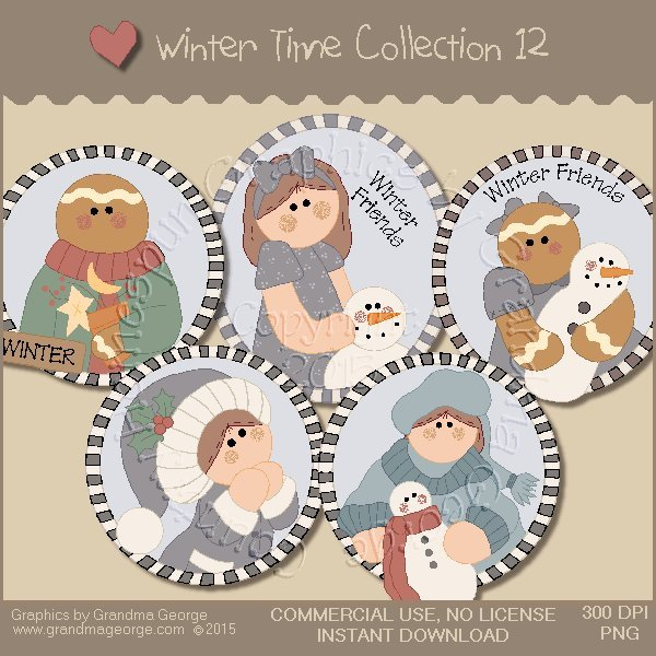 Winter Time Collection Vol. 12