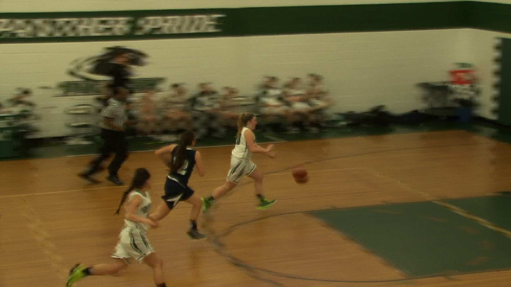Midland Park vs. Waldwick girls' basketball video highlights