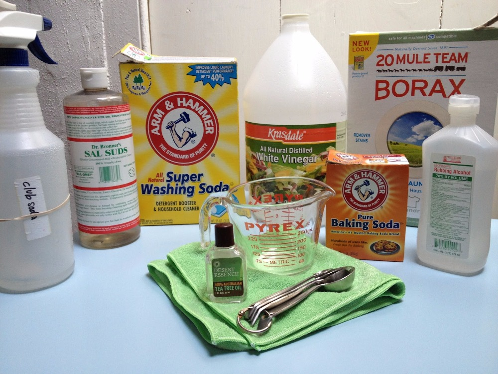3 Go-to Green Cleaning Recipes