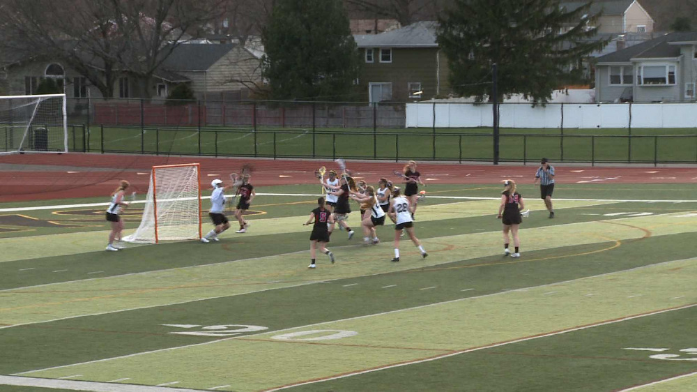 Glen Rock vs. River Dell girls' lacrosse video highlights