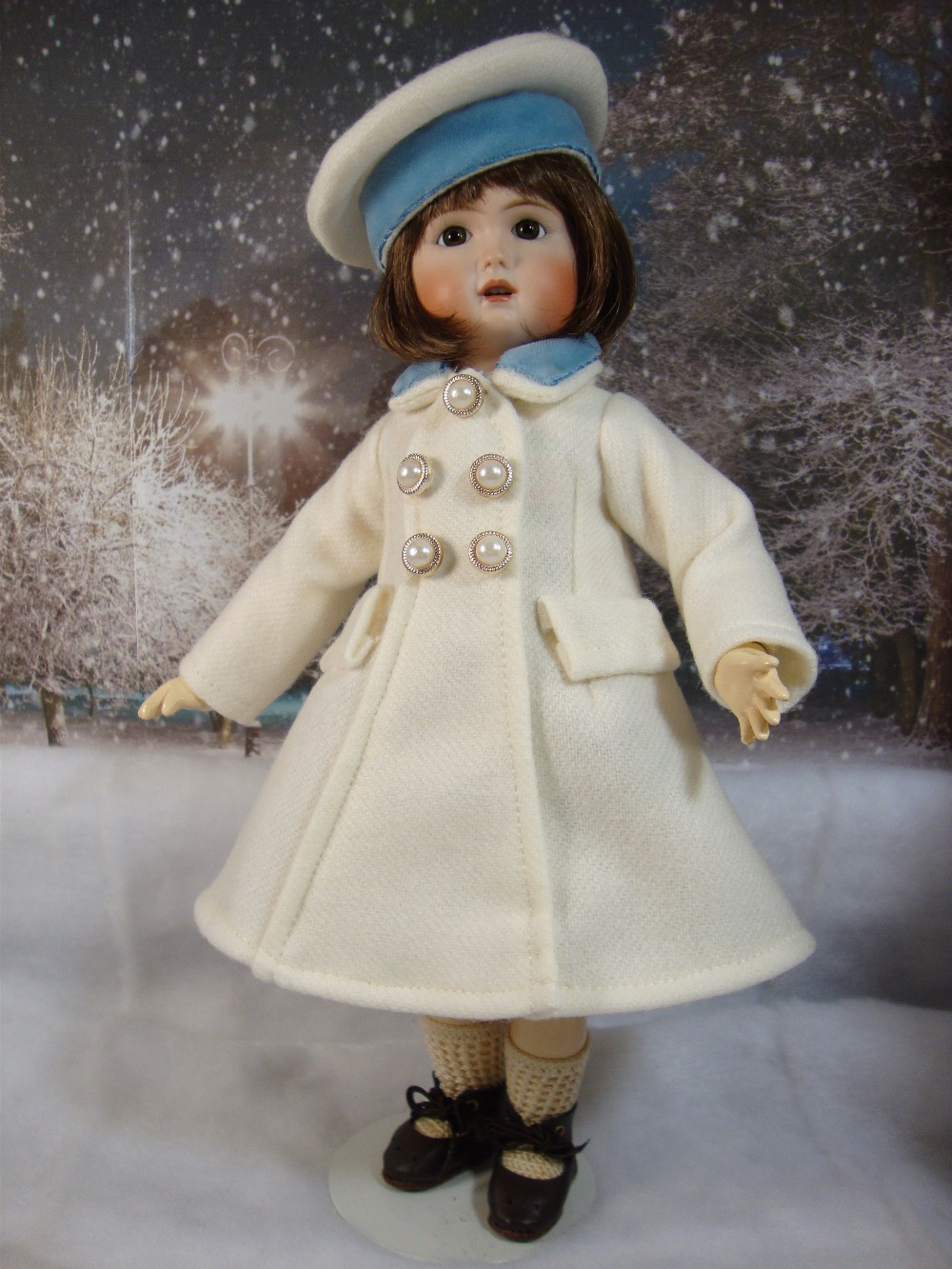 Bleuette Pattern Bach Coat and Hat
