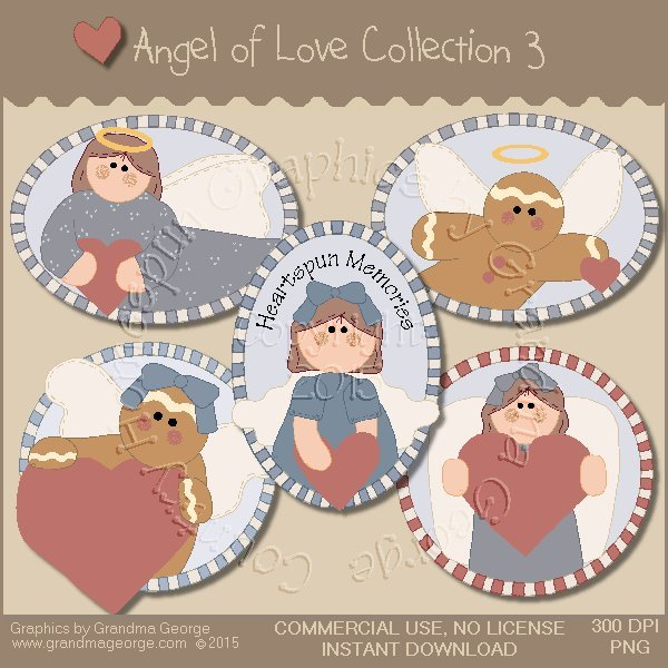 Angel of Love Graphics Collection Vol. 3