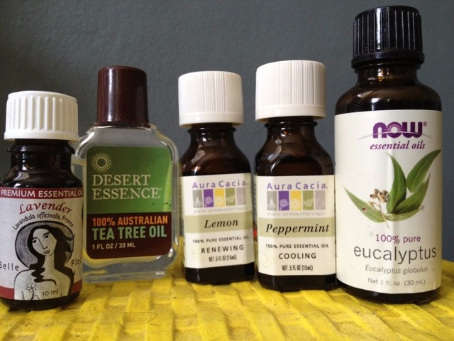 Green Cleaning with Essential Oils Tip Sheet