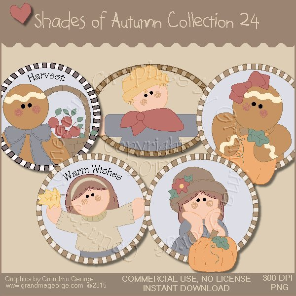 Shades of Autumn Graphics Collection Vol. 24