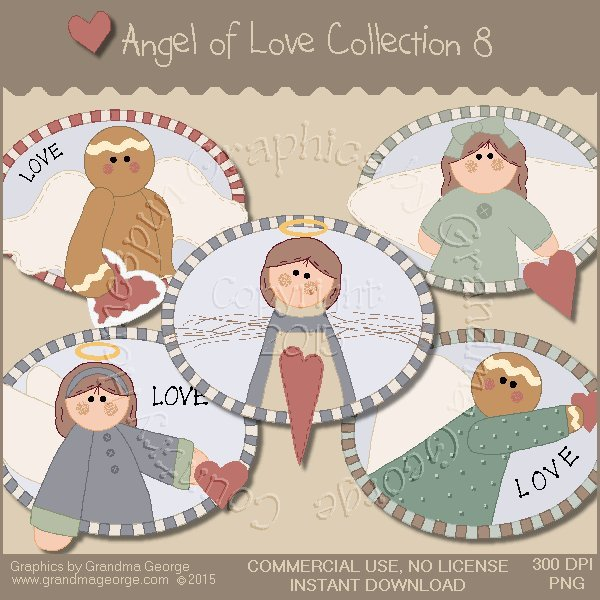 Angel of Love Graphics Collection Vol. 8