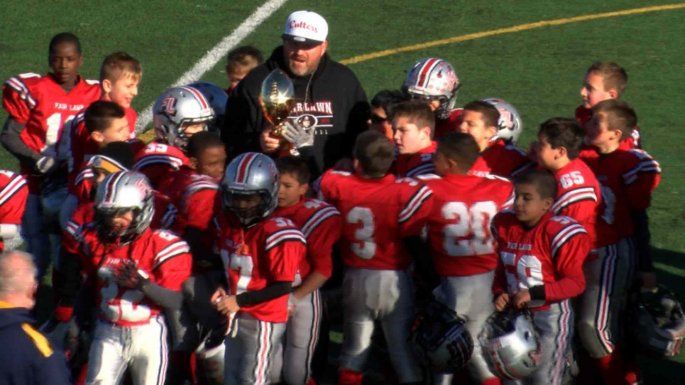 Fair Lawn vs. Butler/Bloomingdale peewee football video highlights