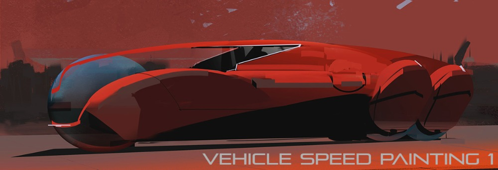 Vehicle Speed Painting 1