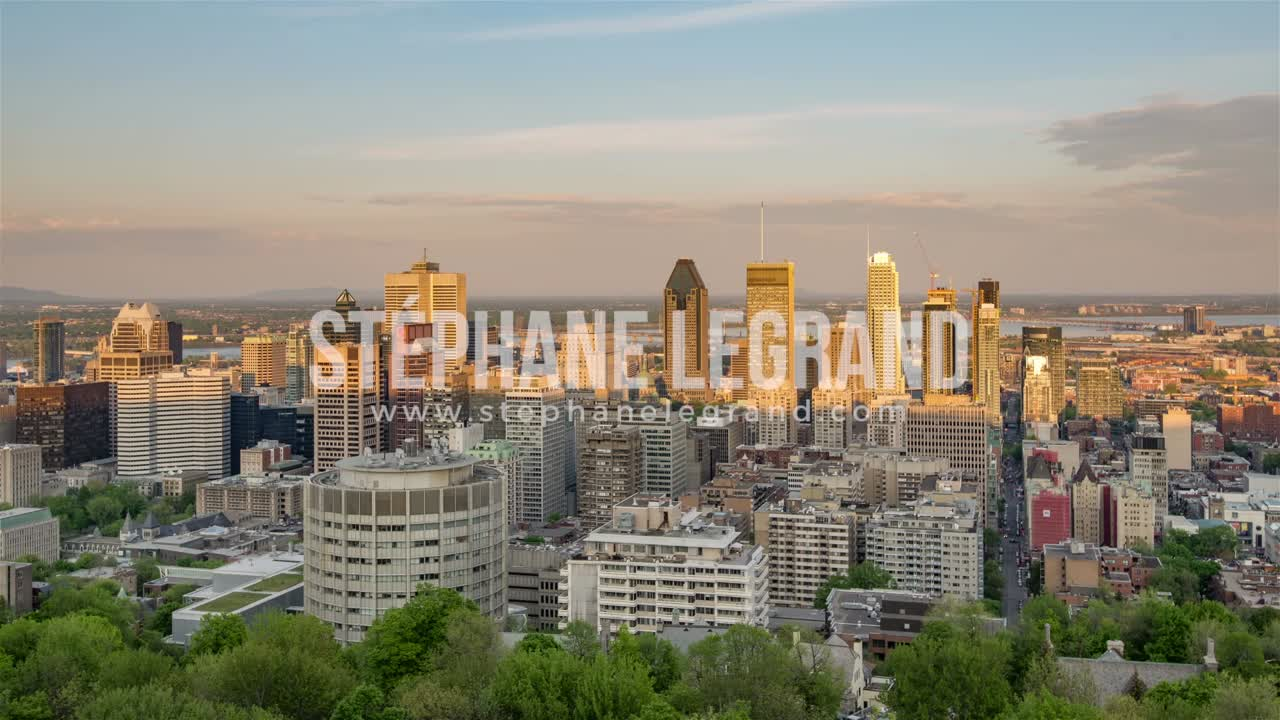 Montreal | The skyline before the sunset