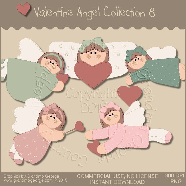 Valentine Angel Graphics Collection Vol. 8