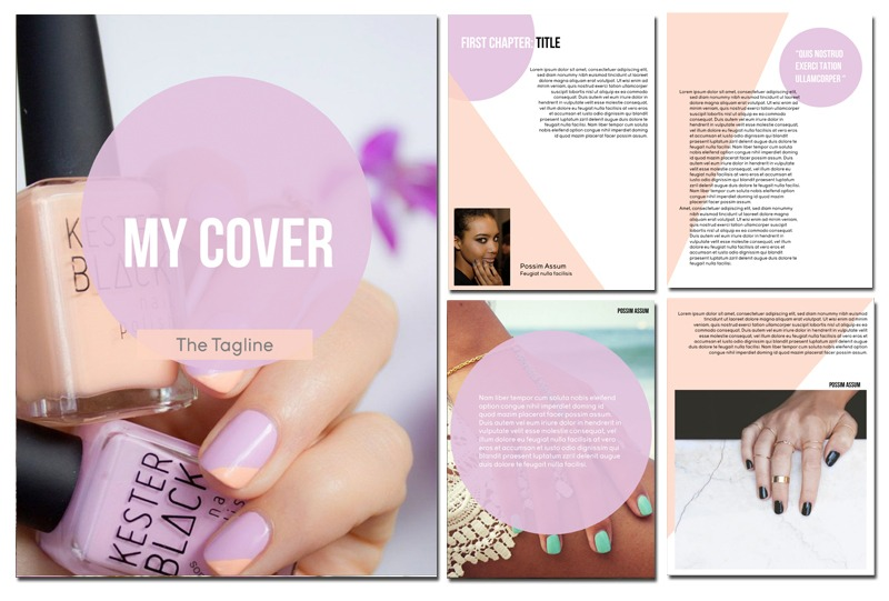 eBook Template - Lily