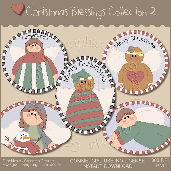 Christmas Blessings Graphics Collection Vol. 2