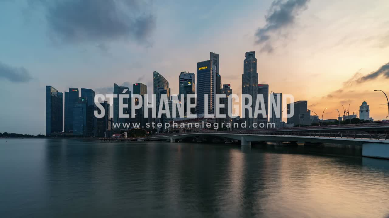 Singapore | The skyline from Day to Night