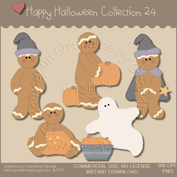 Happy Halloween Graphics Collection Vol. 24