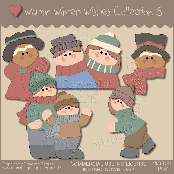 Warm Winter Wishes Collection Vol. 8