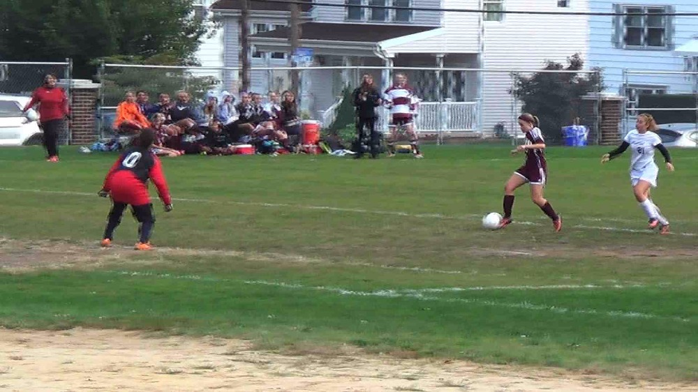 Verona vs. Belleville girls' soccer video highlights