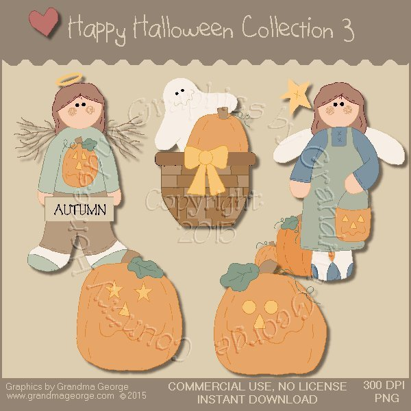 Happy Halloween Graphics Collection Vol. 3