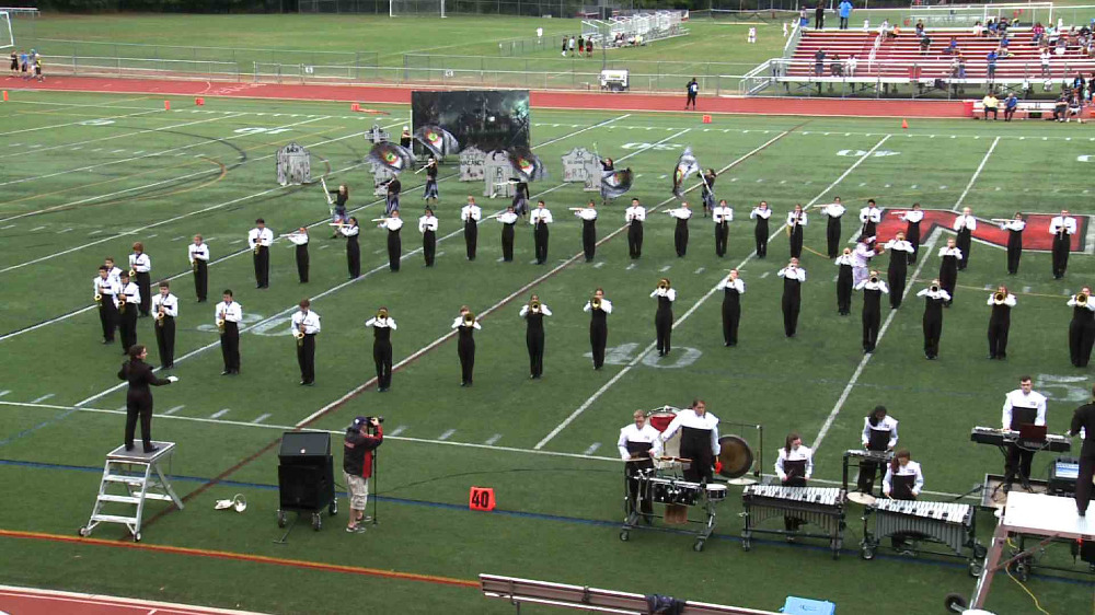 Northern Highlands marching band video