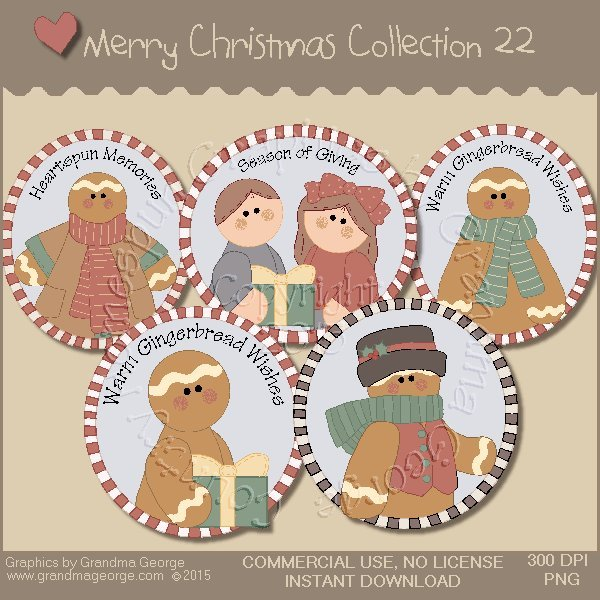 Merry Christmas Graphics Collection Vol. 22