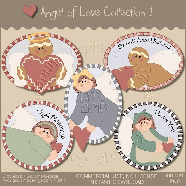 Angel of Love Graphics Collection Vol. 1