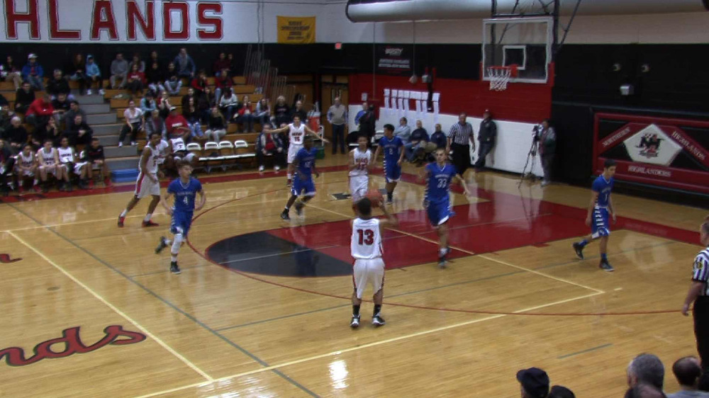 Bergenfield vs. Wood-Ridge boys' basketball video highlights