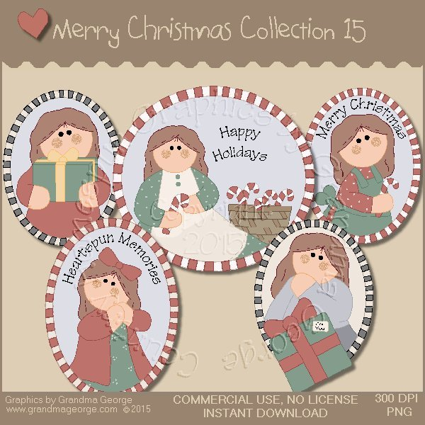 Merry Christmas Graphics Collection Vol. 15