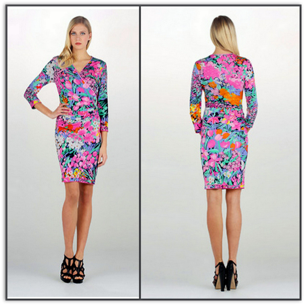 Emilio Pucci Silk Jersey Shift Dress L1870