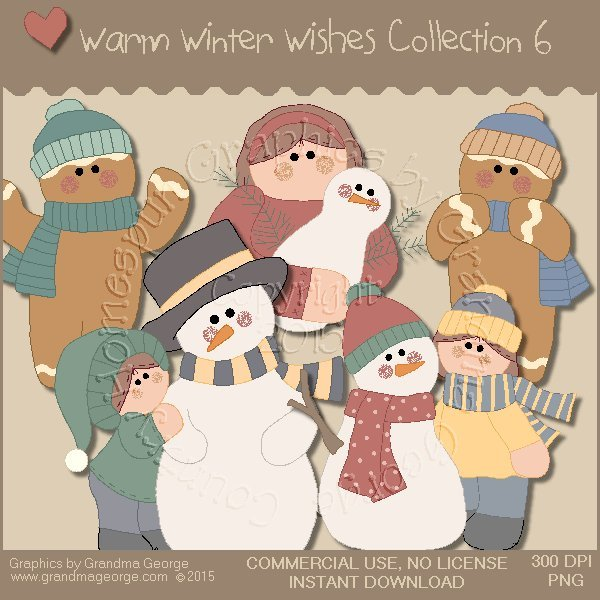 Warm Winter Wishes Collection Vol. 6