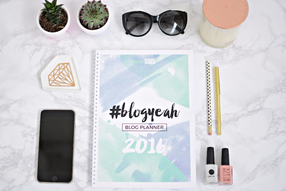 [pre-order] SBB Blog Planner 2016 - Printed Version