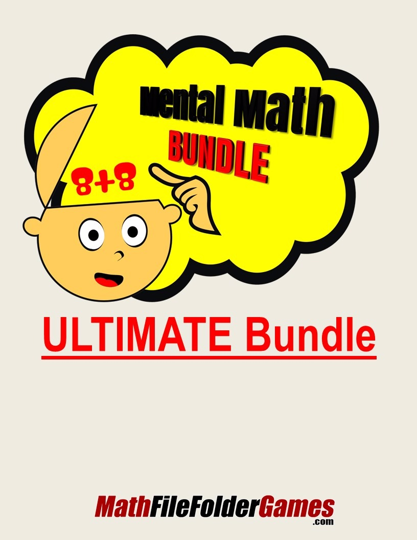 ULTIMATE Mental Math Bundle