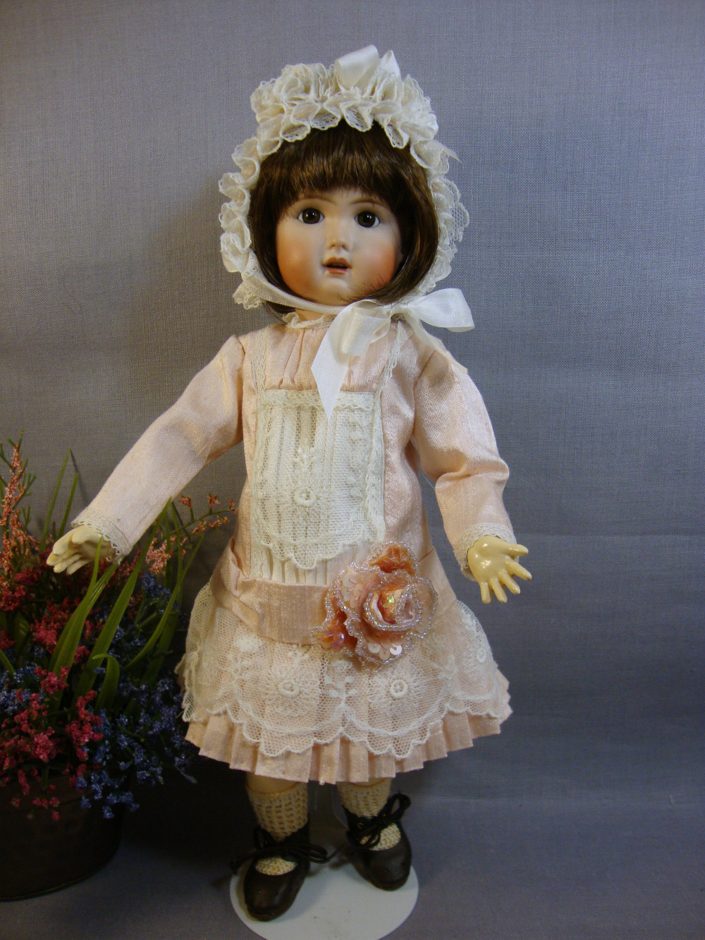 Bleuette Pattern 1890's French Dress and Bonnet