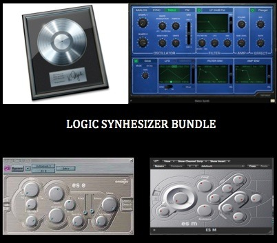 Logic Pro Synthesizer Bundle (80 Presets)